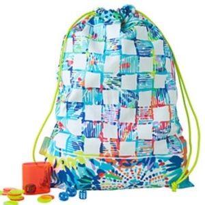 Lilly Pulitzer Beach Bag & Game Set NWT